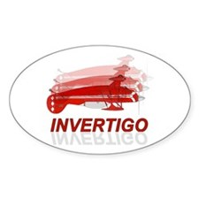 Aviation - Pitts Invertigo Oval Decal