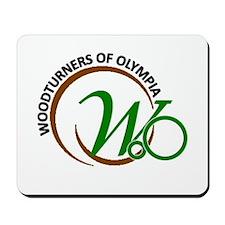 Woodturners Of Olympia Mousepad
