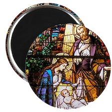 Nativity Window Magnet