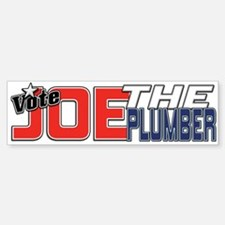 Vote JOE THE PLUMBER! Bumper Bumper Bumper Sticker