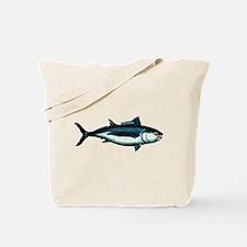 Painted Tuna Fish Tote Bag