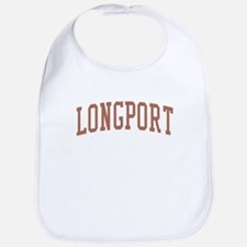 Longport New Jersey NJ Red Bib