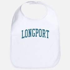 Longport New Jersey NJ Blue Bib