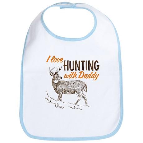 I Love Hunting With Daddy Bib