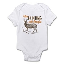 Hunting with Grandpa Infant Bodysuit