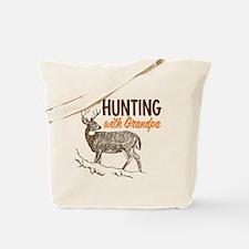 Hunting with Grandpa Tote Bag