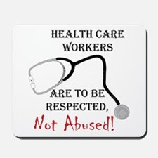 Health Care Workers Mousepad