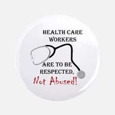 "Health Care Workers 3.5"" Button"