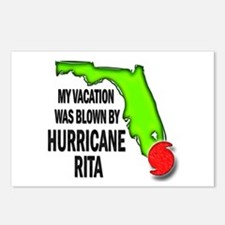 FL Blown Hurricane Rita Postcards (Package of 8)