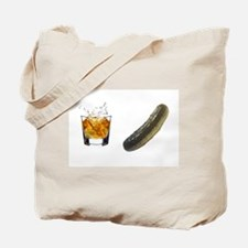 whiskey pickle Tote Bag