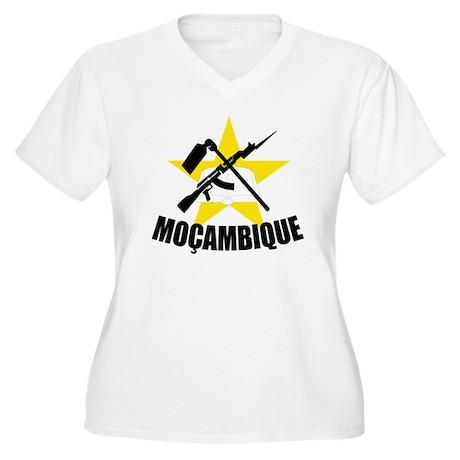 Mozambique Women's Plus Size V-Neck T-Shirt