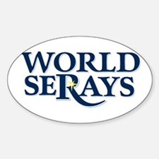 WORLD SERAYS Oval Decal