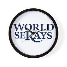 WORLD SERAYS Wall Clock