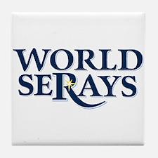 WORLD SERAYS Tile Coaster