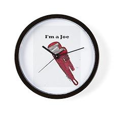 I'm a Joe Wall Clock