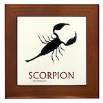 Scorpion Framed Tile