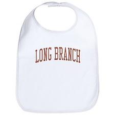 Long Branch New Jersey NJ Red Bib