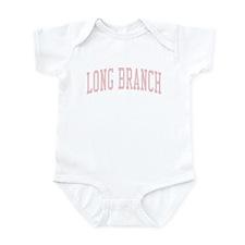 Long Branch New Jersey NJ Pink Infant Bodysuit
