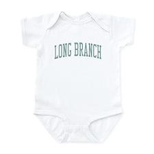 Long Branch New Jersey NJ Green Infant Bodysuit