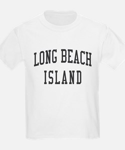 Long Beach Island New Jersey NJ Black T-Shirt