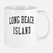 Long Beach Island New Jersey NJ Black Mug