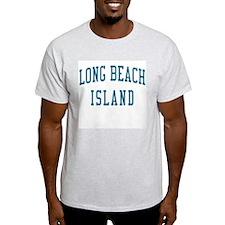 Long Beach Island New Jersey NJ Blue T-Shirt