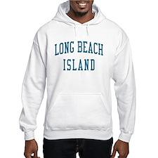 Long Beach Island New Jersey NJ Blue Hoodie