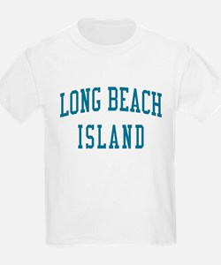 Long Beach Island New Jersey NJ Blue T-Shirt