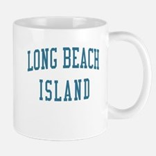Long Beach Island New Jersey NJ Blue Mug
