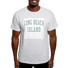 Long Beach Island New Jersey NJ Green T-Shirt
