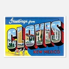 Clovis New Mexico NM Postcards (Package of 8)