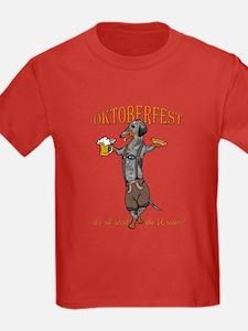 Dapple Oktoberfest Weiner Dog T