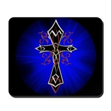 Celtic Tribal Cross Mousepad