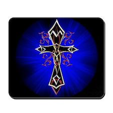 Celtic Tribal Cross Mousepad