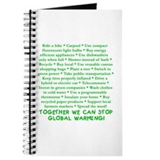 22 Ways to Save the Earth Journal