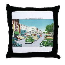 Shelby North Carolina NC Throw Pillow