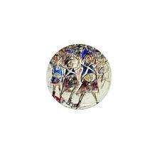 Cute Tartan army Mini Button