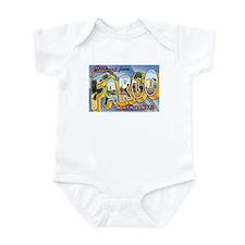 Fargo North Dakota ND Infant Bodysuit