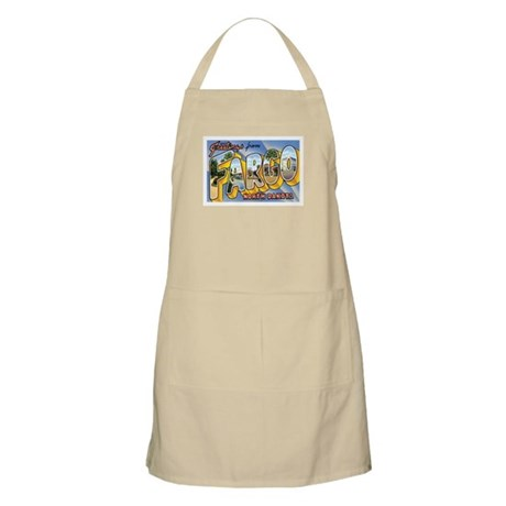 Fargo North Dakota ND BBQ Apron