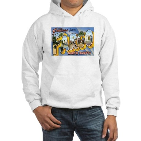 Fargo North Dakota ND Hooded Sweatshirt
