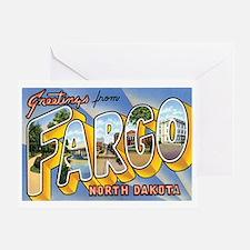 Fargo North Dakota ND Greeting Card