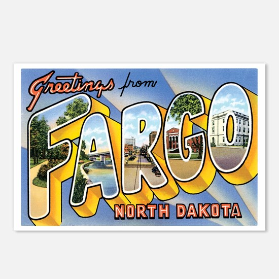 Fargo North Dakota ND Postcards (Package of 8)