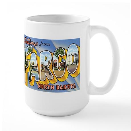 Fargo North Dakota ND Large Mug