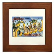 Fargo North Dakota ND Framed Tile
