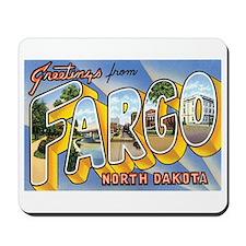 Fargo North Dakota ND Mousepad