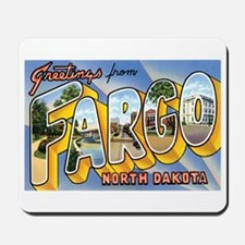 Fargo North Dakota ND Mousepad