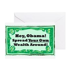 """Spread Your Own Wealth"" Greeting Card"
