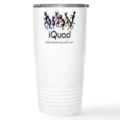 iQuad Team Stainless Steel Travel Mug