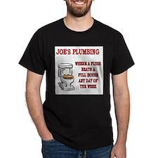 Joe's Plumbing T-Shirt