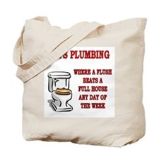 Joe's Plumbing Tote Bag